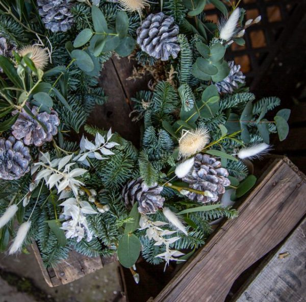 New Town Wreath Pine