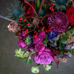 Old Town Christmas Bouquet