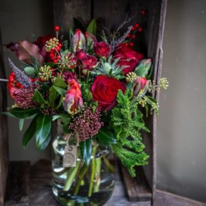 Rogue Christmas Bouquet Red
